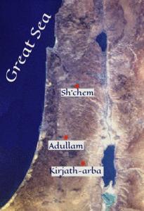 judah and tamar trilogy setting map